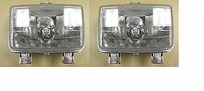 00 01 TRX350 TRX 350 RANCHER ATV OEM Headlight Head Light Pair LT & RT