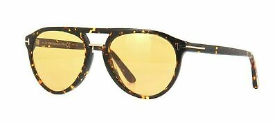 Authentic Tom Ford FT 0697 Burton 52F Blonde Havana/Brown Sunglasses