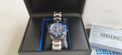 Seiko Prospex Men's 'Save the ocean' Special Edition solar divers watch