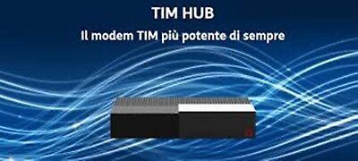 MODEM ROUTER AGTHP TELECOM TIM HUB DGA4132 ADSL E-VDSL FIBRA 1000 MEGA WI-FI NEW