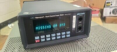 Newport 2832c 2 Channel High Performance Optical Power Meter Tested Working