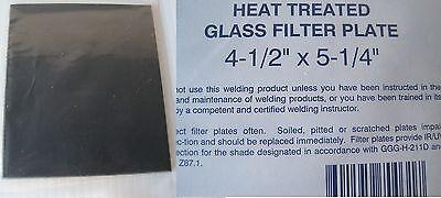 Welding Helmet Glass Filter Lens Plate 4-12 X 5-14 Shade 9 Dark Qty 3