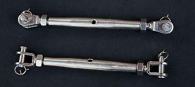 Stainless Steel Turnbuckle Closed Body 14 Rigging Marine Grade Cbtbm6