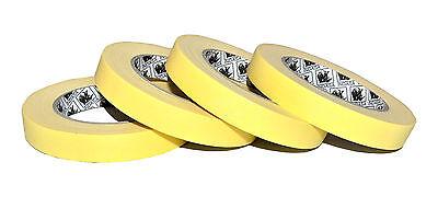 5 Rollen 18mm x 50m Abklebebänder -80°C Lackierband  Indasa - kein Unterlaufen