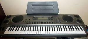 CASIO WK 1800 keyboard & Manual & Pattern Discs-Power Adaptor Drysdale Outer Geelong Preview