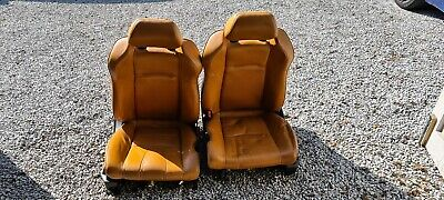 Nissan 350z Burnt Orange Leather Seats/Interior