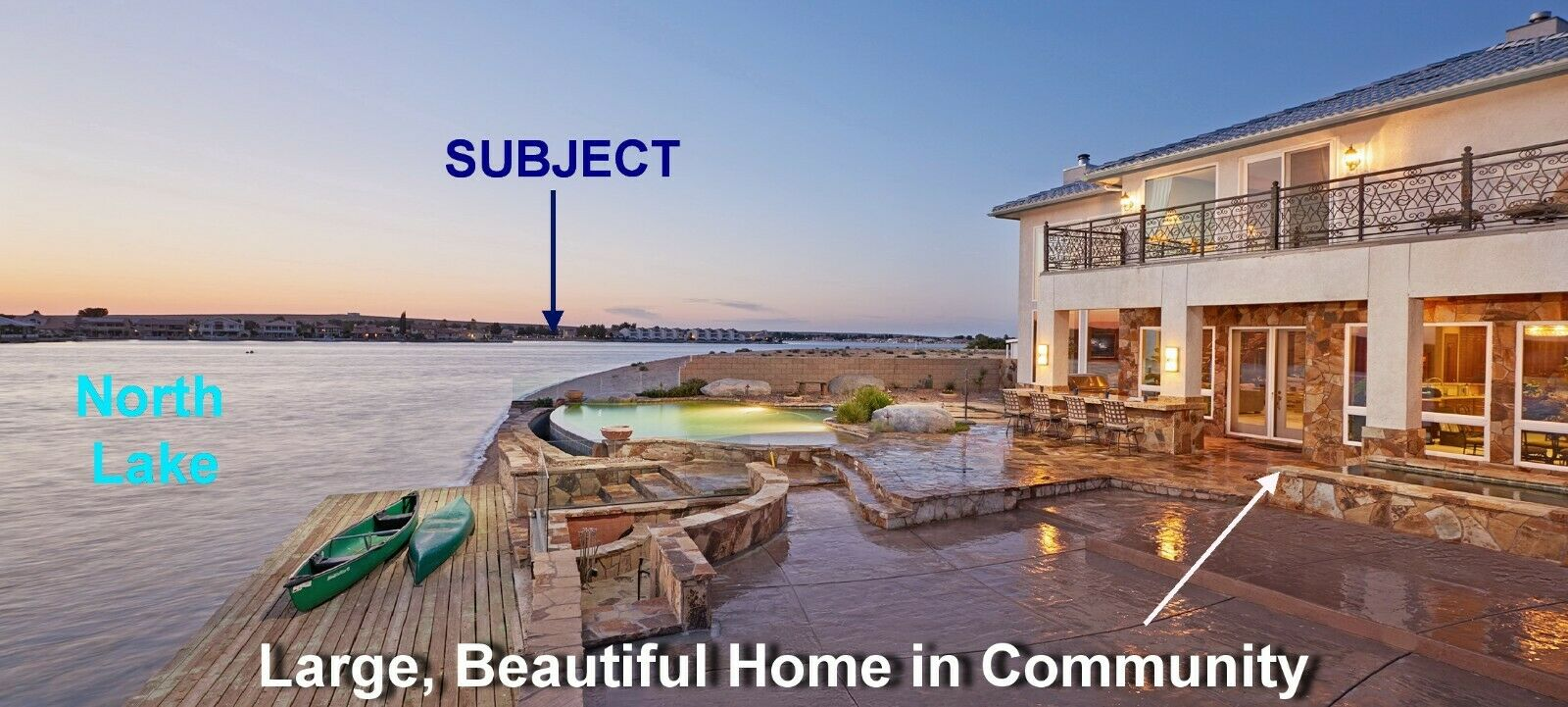 Southern California Waterfront Property in Beautiful Golf & Lakefront Community