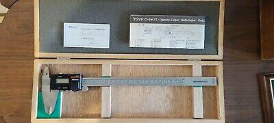 Mitutoyo 12 Digital Caliper In Wooden Vintage Box 500-353 Digimatic New Cd-12 P