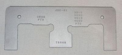 John Deere Jde-61 Clutch Adjusting Tool 3010 3020 4000 4020 4010 4320 4520