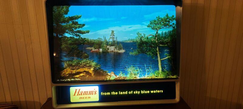HAMMS BEER SIGN - 1950