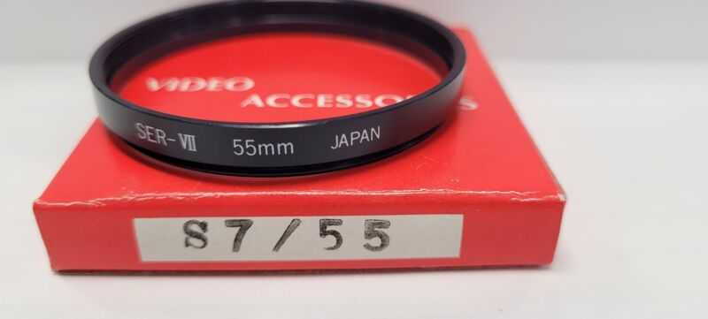 Lens Adapter Ring For Series VII (Series 7) To Fit 55mm Lenses and Accessories