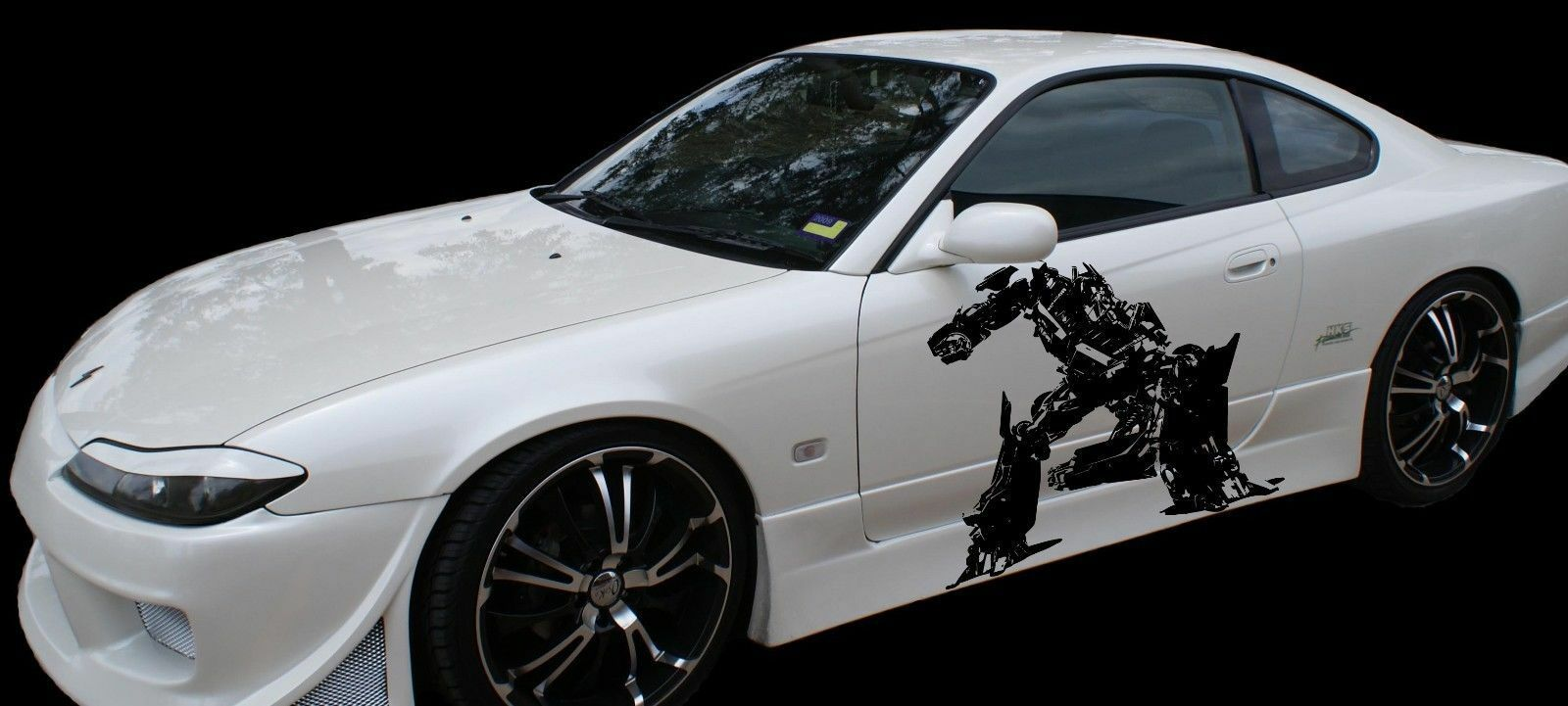 Best car sticker design - Transformer Car Sticker