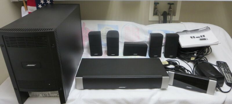 Bose Lifestyle V20 5.1 Channel Home Theater System Complete