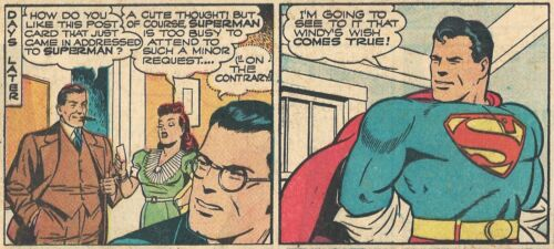 RARE  VINTAGE SUPERMAN SUNDAY PAGE #198 From 1943 - GREAT IMAGES