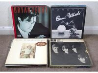 Vinyl LPs Records x30 Job Lot Inc Beatles Bryan Ferry Bob Dylan Elton John etc