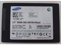 """SAMSUNG SSD Drive 2.5"""" SATA 6.0Gb/s 256GB"""