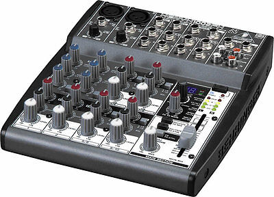 BRAND NEW Behringer XENYX 1002FX 8 Input Mixer Board EQ & 100-Multi-FX Processor. Buy it now for 119.99