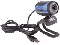 High Definition USB Webcam New Unused Boxed BNIB Sweex 5-element glass lens HD for laptop