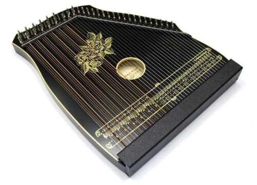 Akkordzither Guitars - Mandolin - Zither 100/3 Black Guitar Mandoline- Zither
