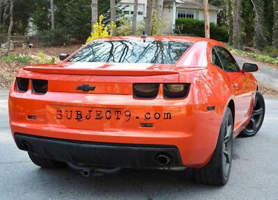 CAMARO smoked tinted tail light covers vinyl 10 11 12 13 Camaro Tail Light Covers