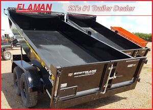 Southland 14' Economy Series Dump Trailer - Priced to Sell!