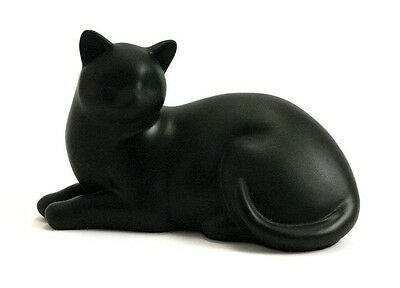 Cat Urns For Ashes Pet Kitty Feline Cremation Urn Resin Memorial Statue Figurine