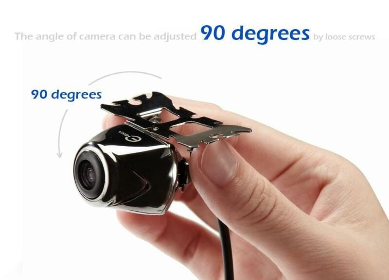 Esky 100% Waterproof Night Vision HD Car Rear View Backup Camera w/ 170 Degree