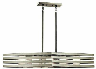 New in Box Kichler 5 Light  Contemporary chandelier 43687N5