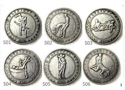 51 Different Hobo Morgan Dollars. Sex Positions.