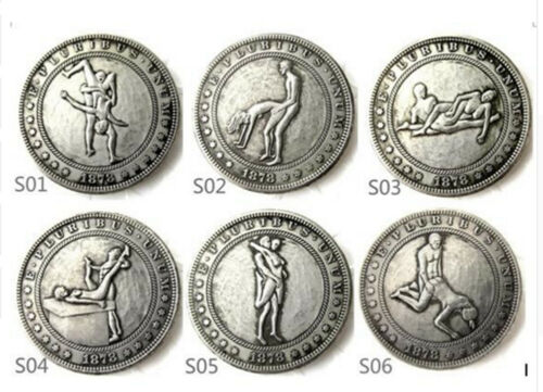 51 Different Hobo Morgan Dollars. Sex Positions.