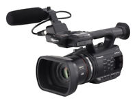 Panasonic video camera AC-AG90 Full HD - with stills capability & Accessories