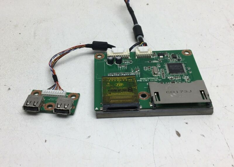 Dell 3008WFP Card Readers & USB Ports Boards PTB-1767 & PTB-1872