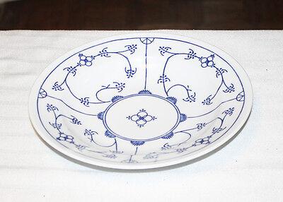 Vintage Rare 3 Rim Soup Cereal Bowls Kahla Blau Saks Germany Blue Pattern