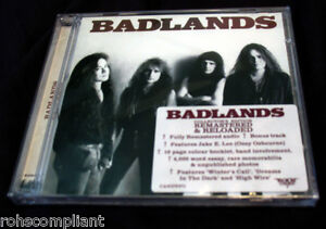 BADLANDS-SELF-TITLED-S-T-ROCK-CANDY-REMASTERED-w-BONUS-TRACK-NEW-CD