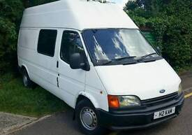 Ford Transit Camper. Low mileage/ pas / Valuable registration / Runs well