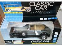 boxed diecast classic car