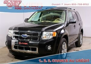 2011 Ford Escape Limited 3.0L 4X4 CUIR TOIT A/C BAS KM
