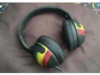 Skullcandy Hesh Rasta On Ear Wired Headphones