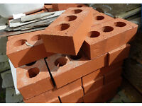 Class B Engineering Brick, Ibstock 65mm Smooth Red x10