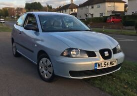 SEAT IBIZA, 1.2, LOW MILEAGE, GREAT FIRST CAR, CHEAP INSURANCE AND TAX, GOOD CONDITION, 1 YEAR MOT