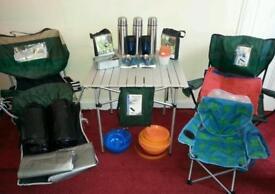 Various camping gear