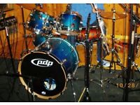 PDP drum set (made by DW)