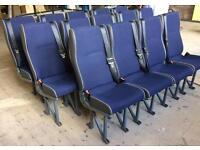 11 MINIBUS SEATS MINT CONDITION £45 EACH
