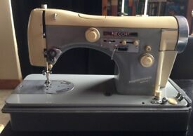 Necchi Supernova Ultra Vintage 1950s Sewing Machine