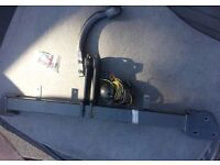 BMW 7 SERIES E65 SWAN NECK TOWBAR & ELECTRICS CAN POST