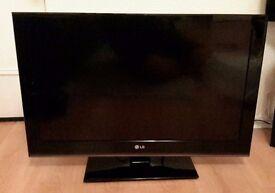 TWO TV'S: LG & Blaupunkt Flat screen TV's
