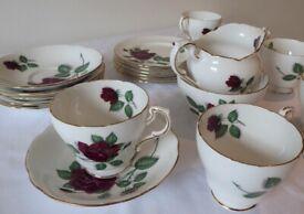 Vintage tea set. Fine Bone China. Superb condition. Paragon. Pre-1960. Antique.