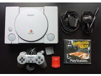 Sony PlayStation 1 Game Console Bundle