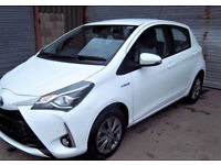 2017 / 67 Reg/ Late Edition, toyota Yaris hybird (nav) 5 drs ,fully Automatic