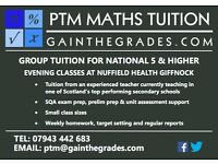 Mathematics Group Tuition - National 5 & Higher Classes at Nuffield Health, Giffnock - Maths Tutor